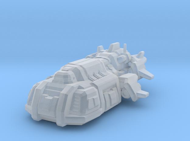 Terran Hercules Dropship in Smooth Fine Detail Plastic