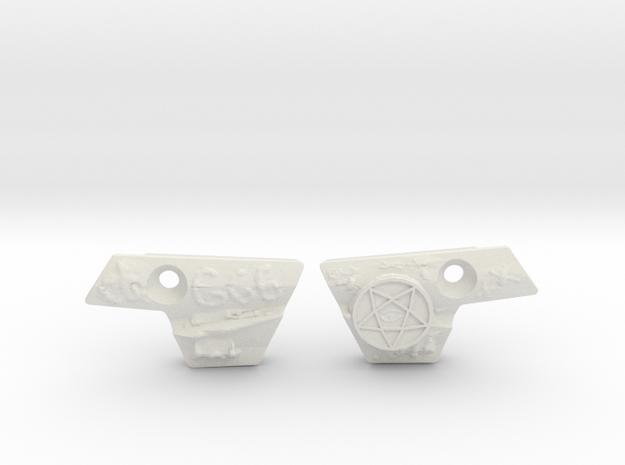 Demon Eye Covers in White Natural Versatile Plastic