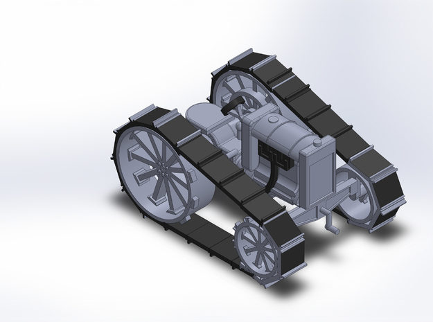 1920 FORDSON CRAWLER in Smooth Fine Detail Plastic