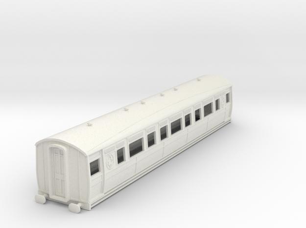 0-87-ltsr-ealing-composite-coach in White Natural Versatile Plastic