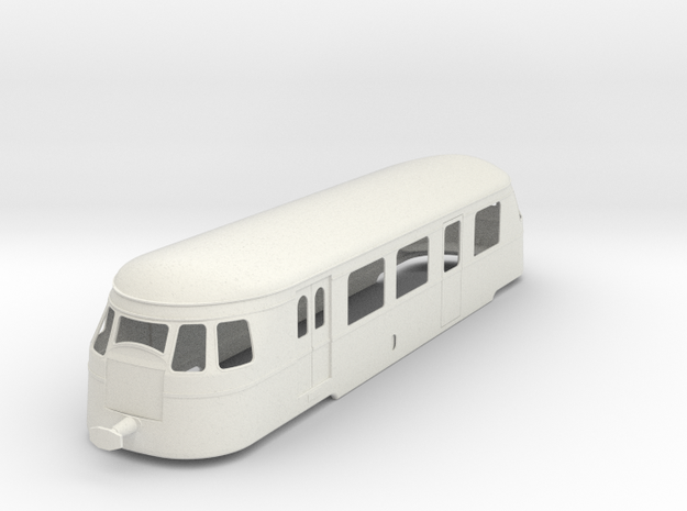 bl22-5-billard-a80d-railcar in White Natural Versatile Plastic