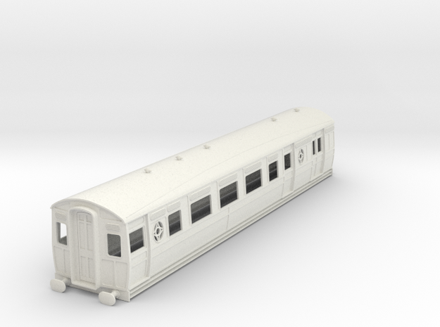 0-43-ltsr-ealing-brake-3rd-coach in White Natural Versatile Plastic
