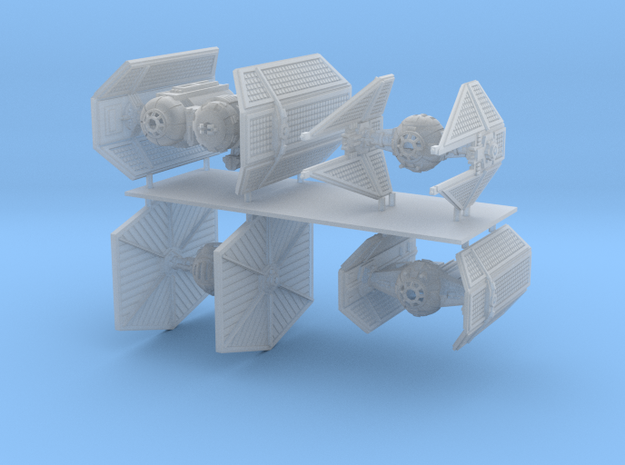 1/350 Imperial Fighter Variety Pack in Smooth Fine Detail Plastic