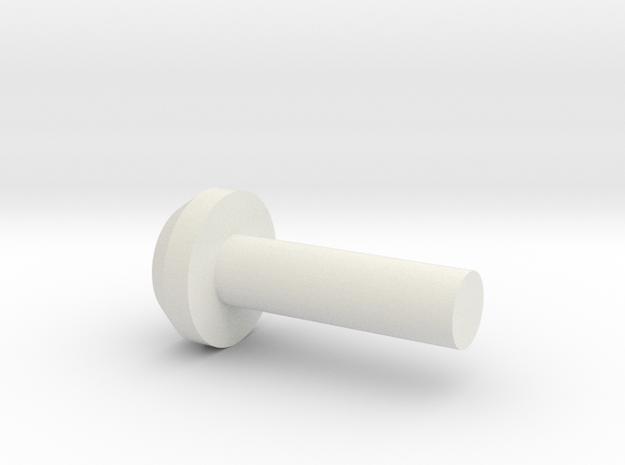 Top Tip in White Natural Versatile Plastic