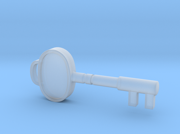 Resident Evil Sickroom Key in Smooth Fine Detail Plastic