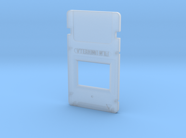 Resident Evil Microfilm in Smooth Fine Detail Plastic