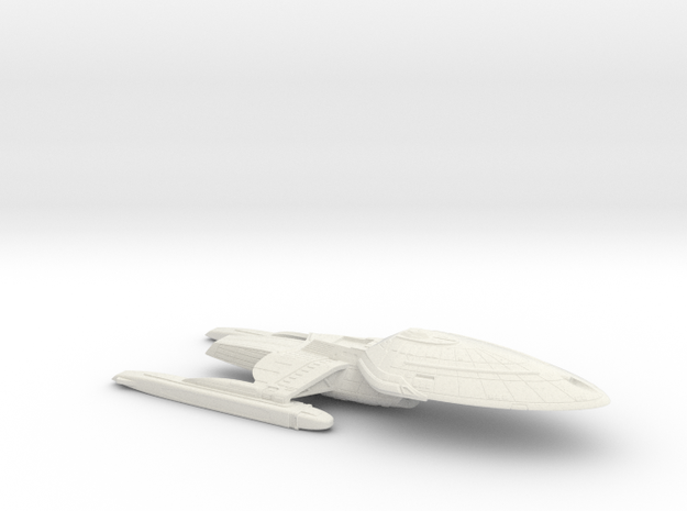 1/2500 USS Palomino Hull Detailed (Voyager Concept in White Natural Versatile Plastic