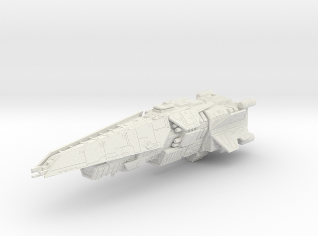 HALO. UNSC Halberd Class Destroyer 1:3000