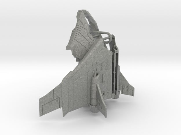Tetrajet Ramjet wings & boosters in Gray PA12