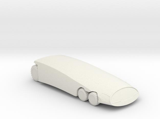 BG Moon Bus V1 1:160 scale in White Natural Versatile Plastic