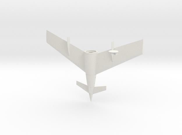 1/144 VON BRAUN SHUTTLE 3RD STAGE in White Natural Versatile Plastic