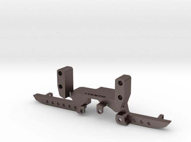 HD Metal Front Truss w SOA for Redcat Portal in Polished Bronzed-Silver Steel