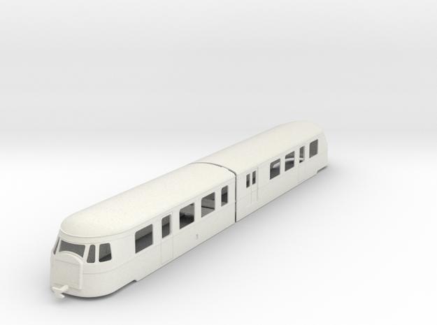 bl55-billard-a150d2-artic-railcar in White Natural Versatile Plastic