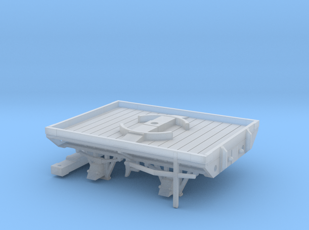 GWR W&L Timber Bolster - 7mm Scale in Smooth Fine Detail Plastic