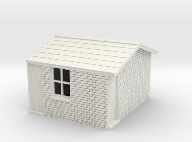 LK43 Leek S/box toilet & lamp room in White Natural Versatile Plastic