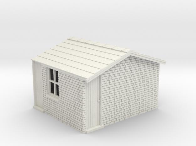 LK73 Hut in White Natural Versatile Plastic