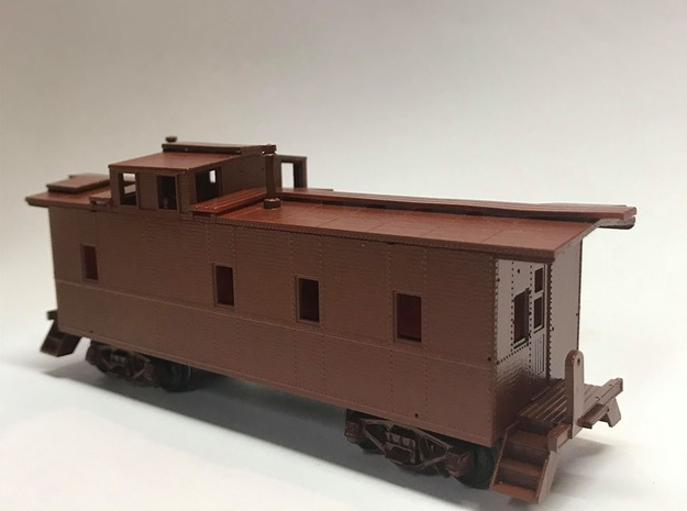 Southern Pacific C-40-3 as delivered (HO scale) in Smooth Fine Detail Plastic