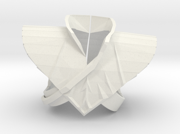 Drakkon Evo1 Shield LC in White Natural Versatile Plastic
