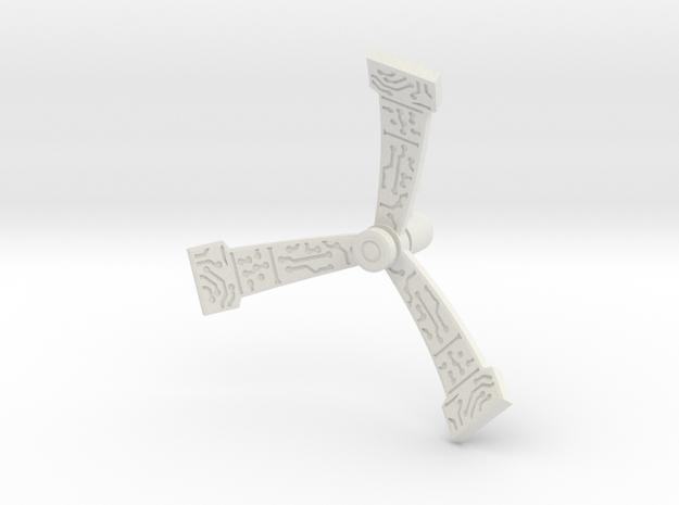 Ironworks Antennae (5mm) in White Natural Versatile Plastic