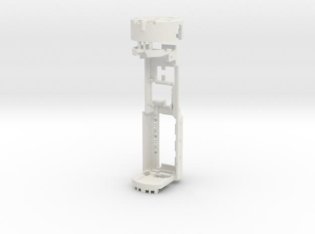 Graflex GMM Chassis - Part20  - Power Gen Style1 in White Natural Versatile Plastic