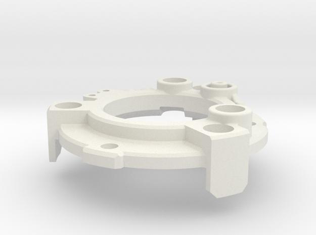 Graflex GMM Chassis - Part13 - Power Gate in White Natural Versatile Plastic