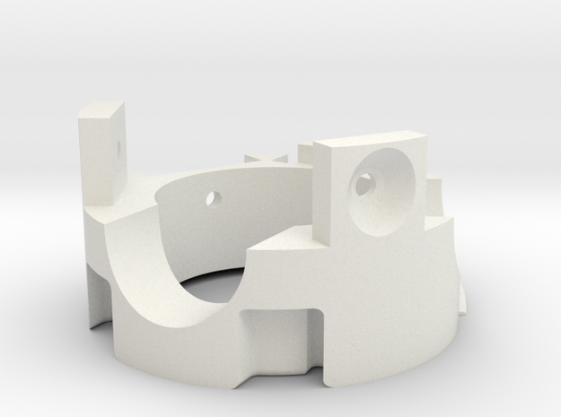 Graflex GMM Blade Holder - Top 1 in White Natural Versatile Plastic