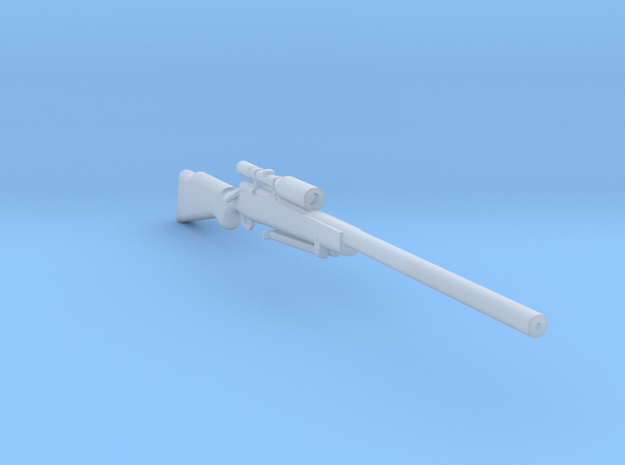 M40a1 1:6 in Smooth Fine Detail Plastic