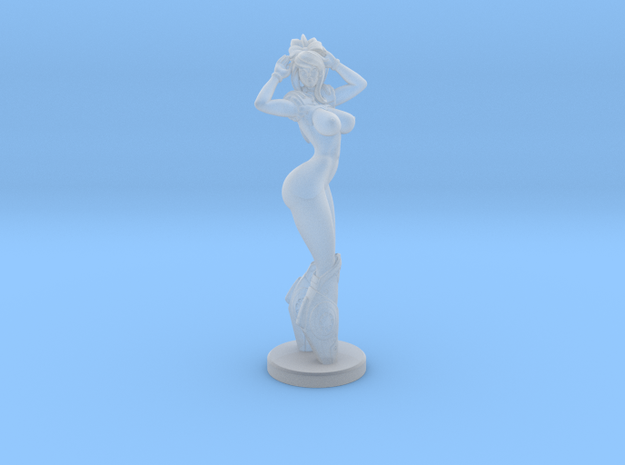 Samus Naked Mini ( 3 sizes ) in Smooth Fine Detail Plastic: Small