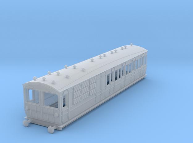 o-148fs-met-ashbury-bogie-brake-3rd-motor-coach in Smooth Fine Detail Plastic