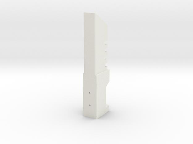DS Blade holder in White Natural Versatile Plastic