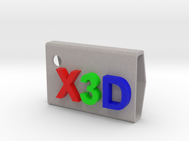 StampX3D in Full Color Sandstone