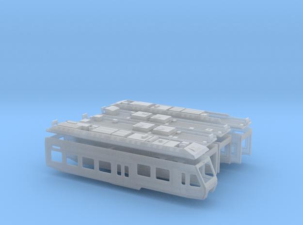 BLS RABe 525 in Smooth Fine Detail Plastic: 1:120 - TT
