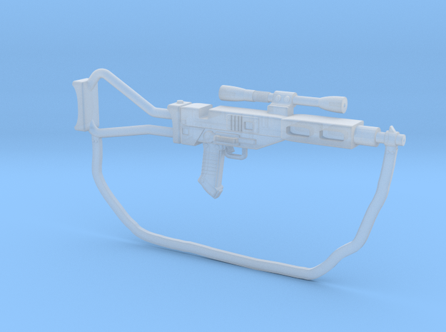 Ingenious AT-AT Blaster rifle 3.75 inch scale! in Smooth Fine Detail Plastic