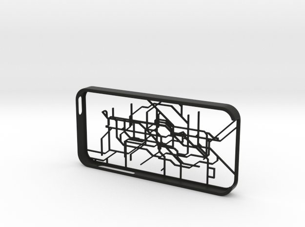 London subway/underground map Iphone 5s case