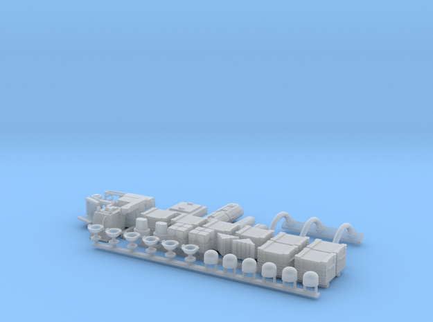 Docking Bay Partial, 1:72 in Smooth Fine Detail Plastic