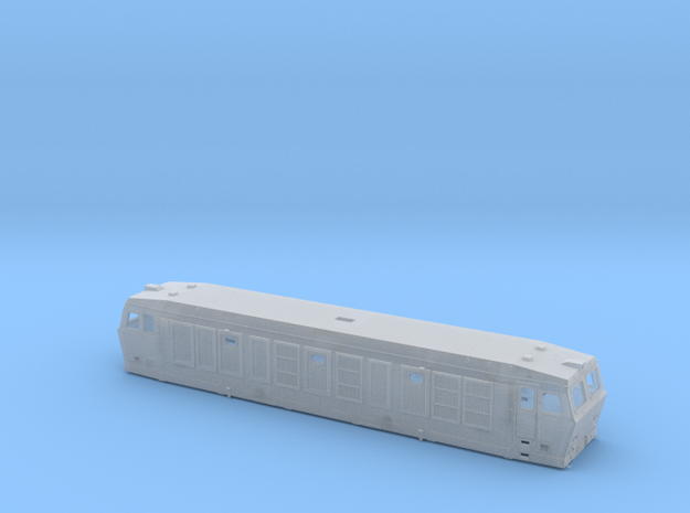 Scala N - FS E632-E633 train seconda serie in Smooth Fine Detail Plastic