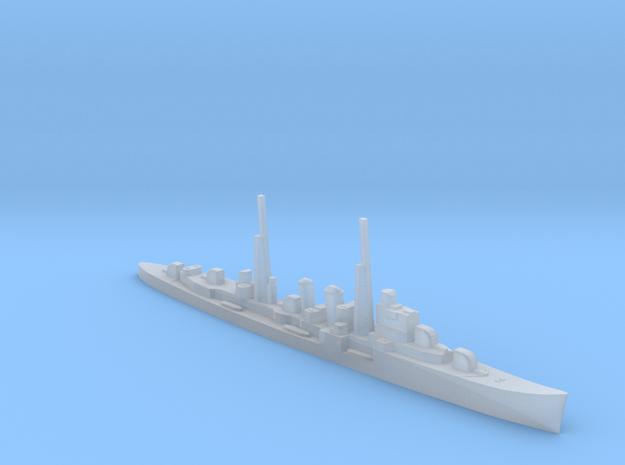 HMS Delhi (masts) 1:2400 WW2 cruiser in Smooth Fine Detail Plastic