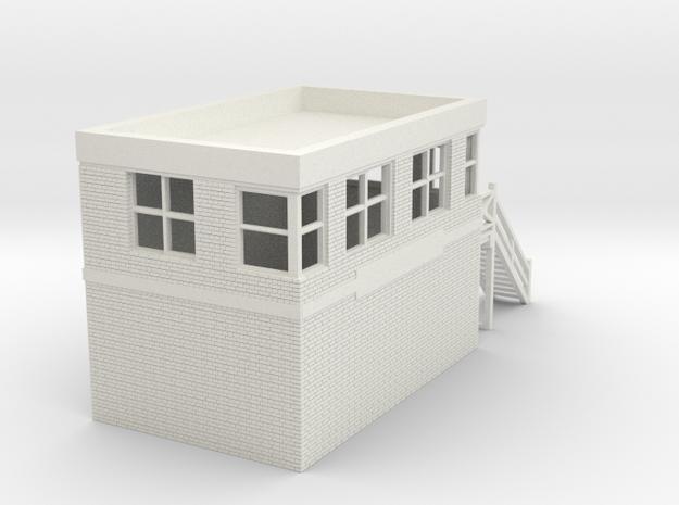 z-100-gomshall-box-1a in White Natural Versatile Plastic