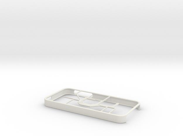 Oslo Metro map iPhone 5s case in White Natural Versatile Plastic