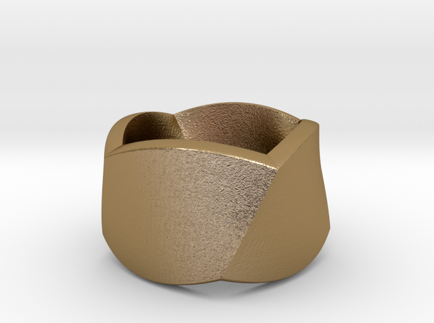 Twisted Ring Size 58 3d printed