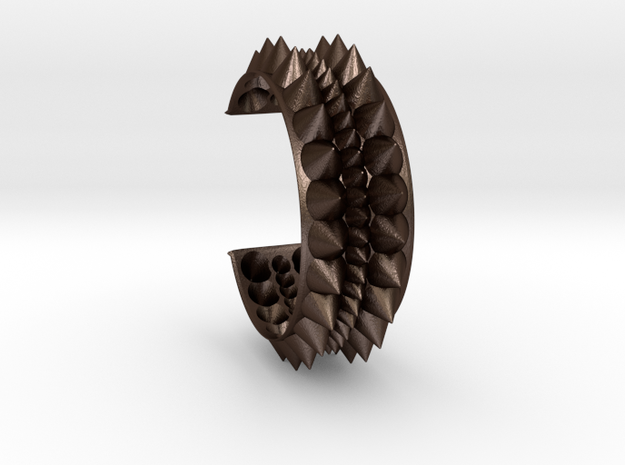 Spiked Tribal Bracelet 3d printed