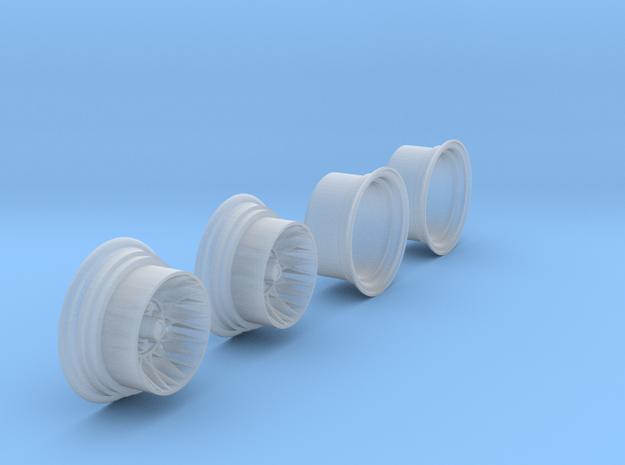 "1:25 Hotwire Wheels 10""x14"" in Smooth Fine Detail Plastic"