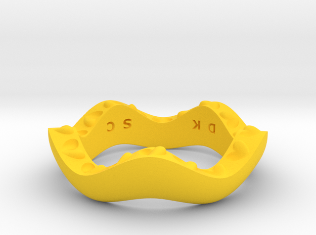 """""""Hitten Hearts """" two or more parts fits together 3d printed"""