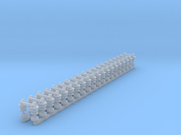 Sectionneurs 25000V in Smoothest Fine Detail Plastic