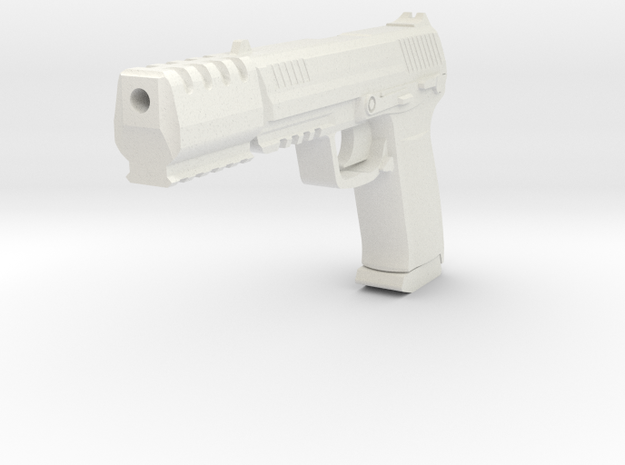J.W. Compensator (1/6 Scale) in White Natural Versatile Plastic
