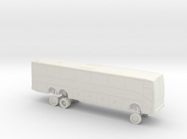 HO Scale Bus 2005 Van Hool C2045 Evans in White Natural Versatile Plastic