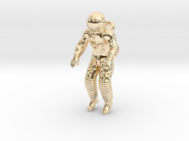 Floating Cosmonaut / Astronaut (40mm) 3d printed