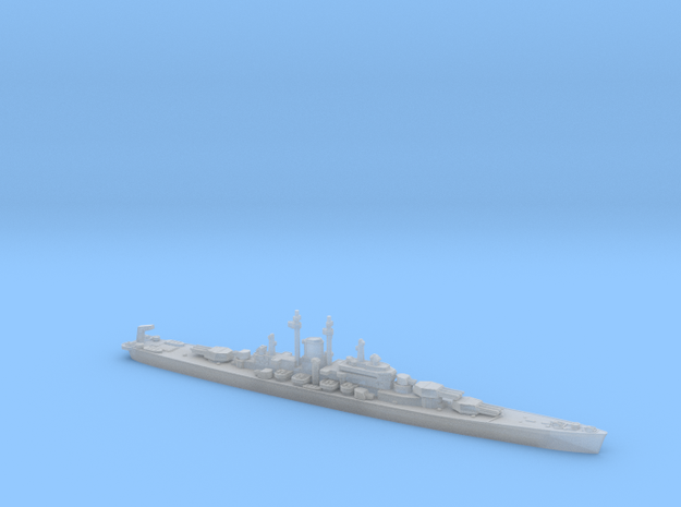 USS Des Moines 1/4800 in Smooth Fine Detail Plastic