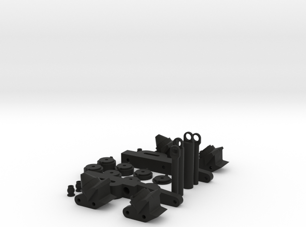 Axial SCX10 Land Rover Defender Style Rear Suspens in Black Strong & Flexible