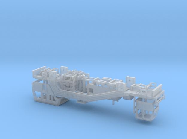 1:120 Plasser Theurer Gleisstopfmaschine 08 19 DB  in Smooth Fine Detail Plastic